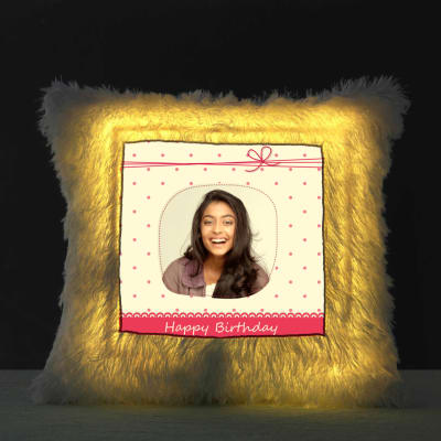 Its Your Birthday Personalized LED Cushion