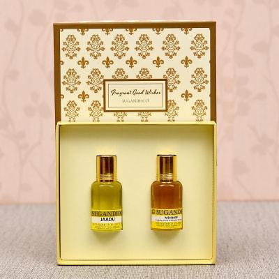 Jaadu & Mehboob Fragrance Attar Couple Gift Set