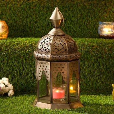 Jaali Work Hanging Lantern