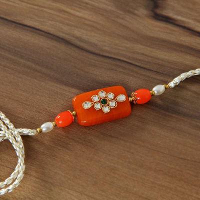 Send gifts to hong kong flowers cakes delivery in hong kong igp kadi kundan rakhi with pearl box negle Choice Image