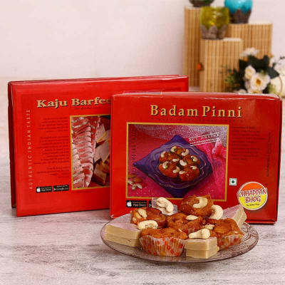 how to make badam barfi