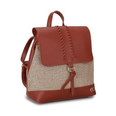 Khaki Backpack for Women