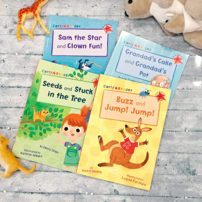 Kid's Story Book - Set of 4