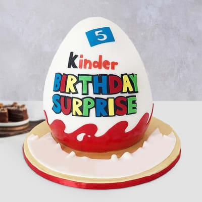 Kinder Joy Fondant Cake(2.5 Kg)