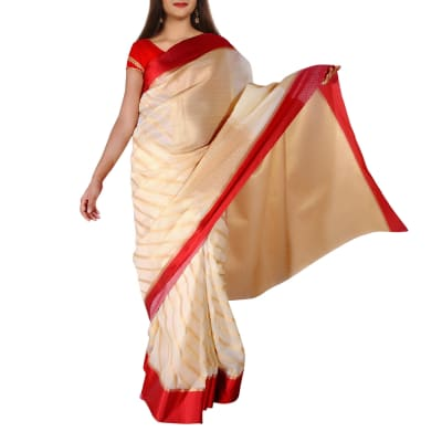 Kota Silk Saree with Zari Work