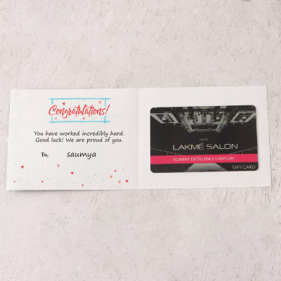 Personalized baby shower gifts online send personalized gifts to lakme 500 inr personalized best wishes gift card negle Gallery