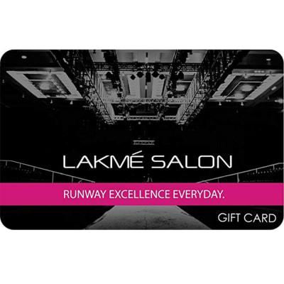 Lakme Salon E-Gift Card