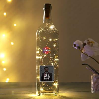 LED Bottle - Customizable with Logo and Image
