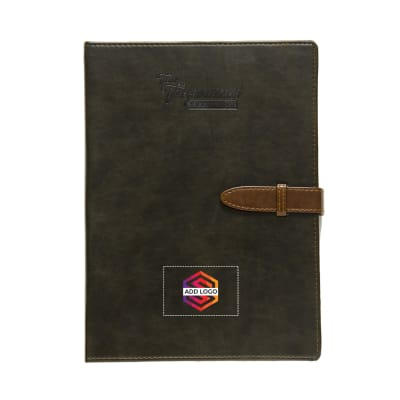 Legend A5 Black Diary - Customized with Logo
