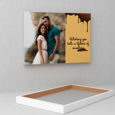Lifetime of Sweetness Personalized Wedding Canvas