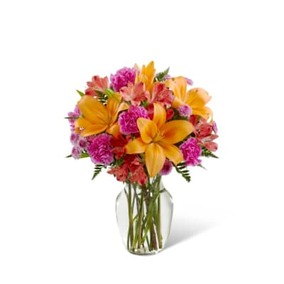 Light of My Life Bouquet- VASE INCLUDED