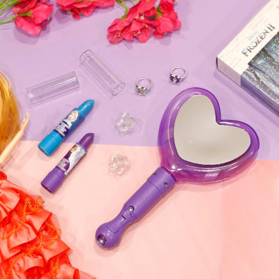 Light Up Mirror with Lip Balm Kids Cosmetic Set