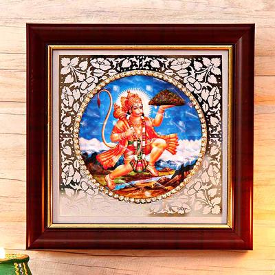 Lord Hanuman Fiber Frame