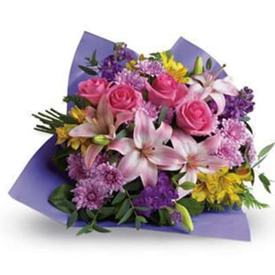 Love and Laughter - Flower Bouquet