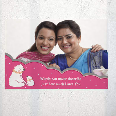 Love For Mom Personalised A3 Poster