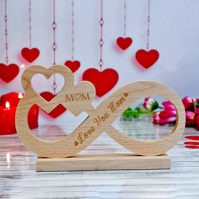 Love Infinity Customized Showpiece for Mom