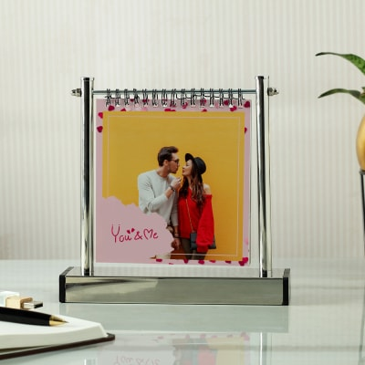Love Photo Memories Metal Photo Stand (6 Leaves)
