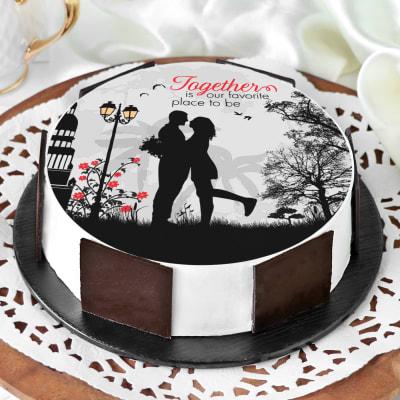 Love Together Cake (Half Kg)
