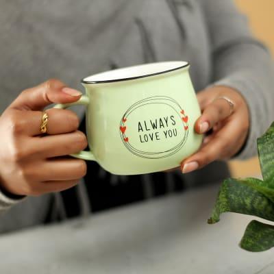 Love You Ceramic Tea Mug- Big Size