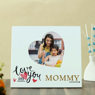 Love You Lots Mommy Personalized Photo Frame