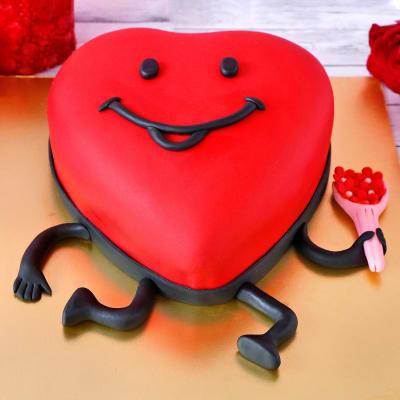 Love You Proposal Cake (3Kg)