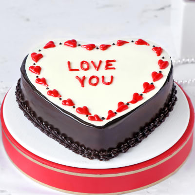 Love You Proposal Cake (Half Kg)