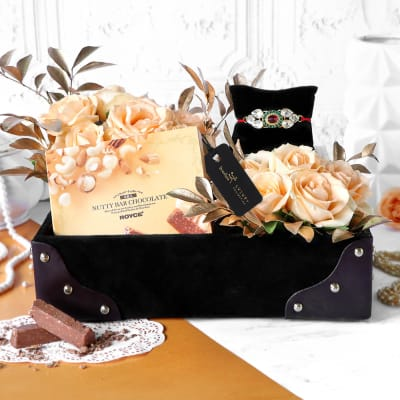 Luxe and Love Rakhi Hamper