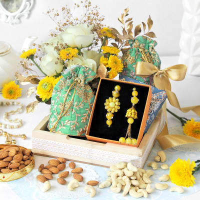 Luxury Floral Hamper for Rakhi