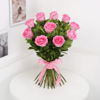 Can Be Delivered Tomorrow Magical Pink Roses