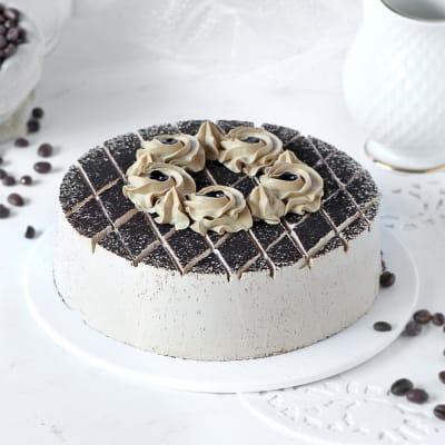 Magnificent Coffee Mocha Cake (Eggless) (1 Kg)