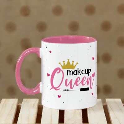 MakeUp Queen Personalized Mug
