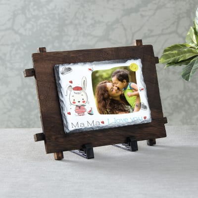 Mama I Love You Personalized Rock Tile