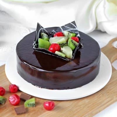 Marvelous Chocolate Fruit Cake (Half Kg)
