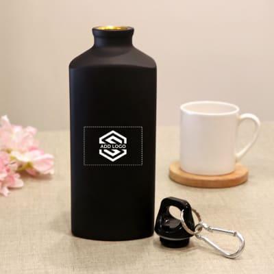 Matte Bottle (600 ml) - Customized with Logo