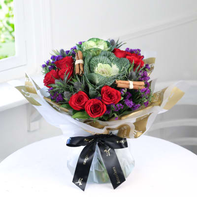 Merry Christmas Hand Tied