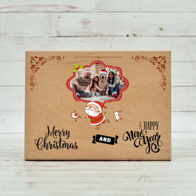 Merry Christmas Wooden Plaque