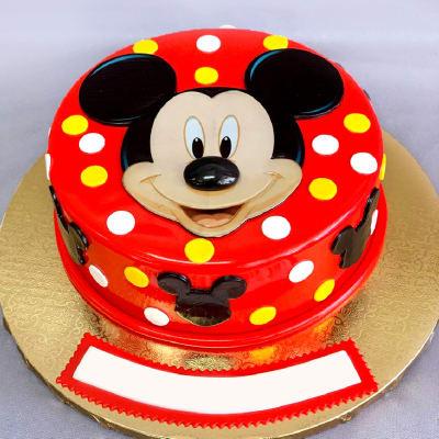 Mickey Mouse Fondant Cake (2 Kg)