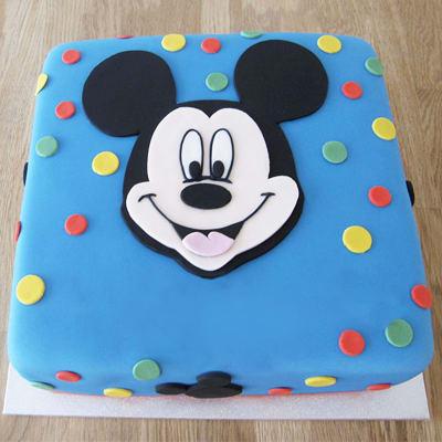 Mickey Mouse Spotty Cake (2.5 Kg)