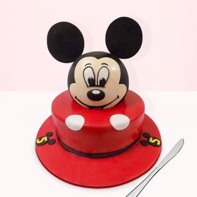 Mickey Mouse Themed Fondant Cake (5 Kg)