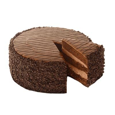 Milk Chocolate Caramel Cake