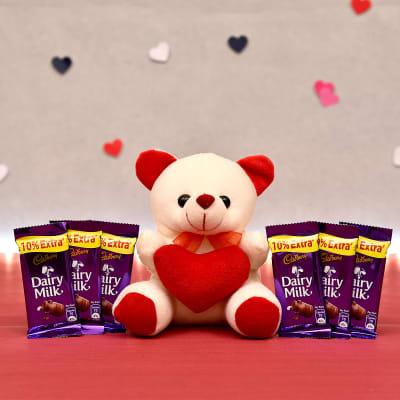 Mini Teddy with Cadbury Chocolates