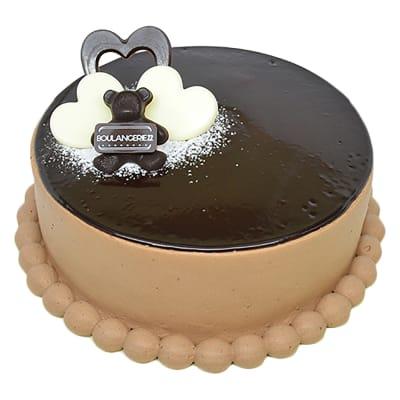 Mirror Glazed Cake