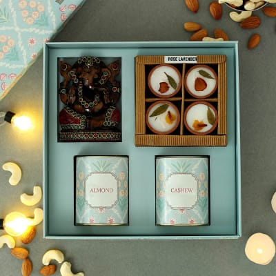 Mix Dry Fruits Gourmet Hamper in Gift Box - Customized with Logo