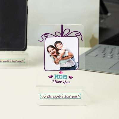 Mom I Love You Personalized Mobile Stand