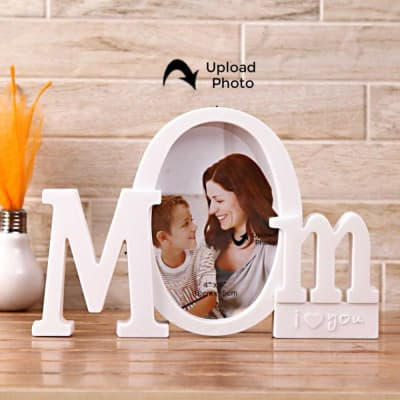 Mom I Love You Personalized Photo Frame Gift Send Home