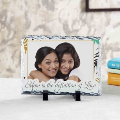 Mom is the Definition of Love Personalized Stone Photo Frame: Gift ...