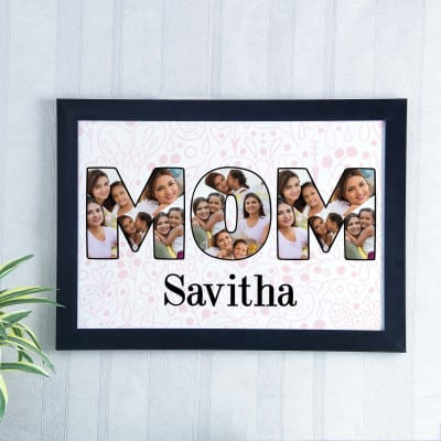 MOM Personalized Collage A3 Photo Frame: Gift/Send Mother\'s Day ...