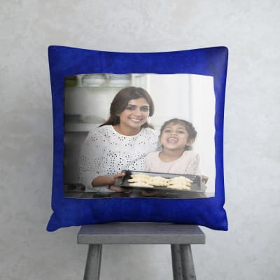 Mother - Daughter Personalized Velvet Cushion