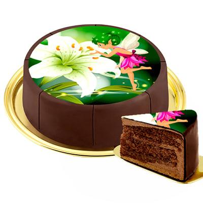 Motif Cake Fairy