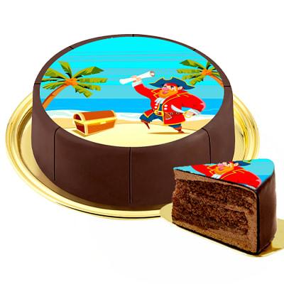 Motif Cake Pirat
